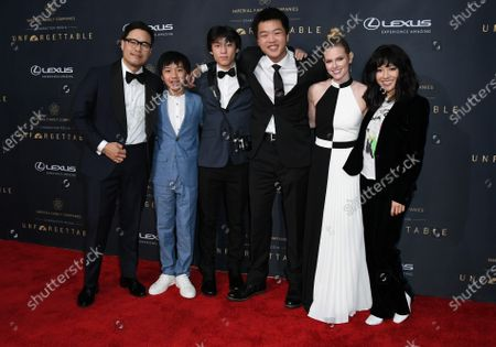Stock Picture of Randall Park, Ian Chen, Forrest Wheeler, Hudson Yang and Chelsey Crisp