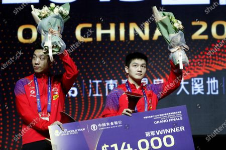Editorial picture of ITTF World Tour Grand Finals in Zhengzhou, China - 15 Dec 2019