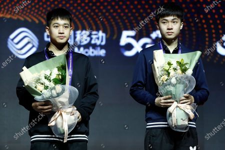 Editorial photo of ITTF World Tour Grand Finals in Zhengzhou, China - 15 Dec 2019