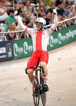 Editorial picture of UCI Track Cycling World Cup in Australia, Brisbane - 15 Dec 2019