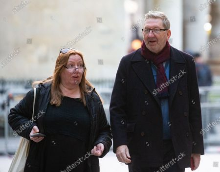 Len McCluskey, Unite General Secretary, arrives at the BBC Studios