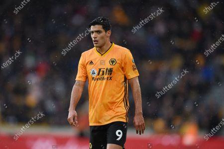 Raul Jimenez of Wolverhampton Wanderers.