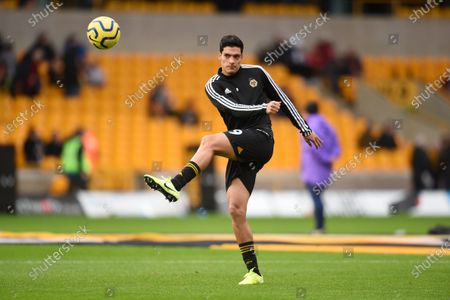 Stock Picture of Raul Jimenez of Wolverhampton Wanderers warms up.