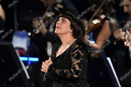 Stock Photo of Mireille Mathieu