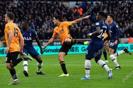 Editorial photo of Wolverhampton Wanderers v Tottenham Hotspur, United Kingdom - 15 Dec 2019