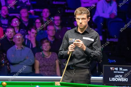 Jack Lisowski is hoping to lift the Stephen Hendry Trophy tonight at the World Snooker 19.com Scottish Open Final Mark Selby vs Jack Lisowski at the Emirates Arena, Glasgow