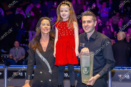 Editorial picture of World Snooker Scottish Open - 15 Dec 2019