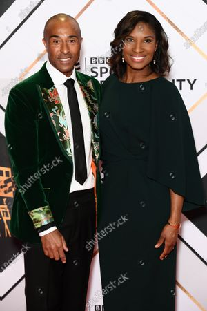 Colin Jackson and Denise Lewis