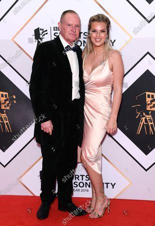 Paul Gascoigne and Katie Davies