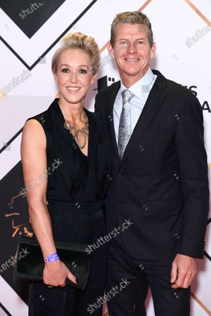 Stock Picture of Steve Cram and wife Allison Curbishley