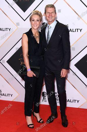 Steve Cram and wife Allison Curbishley