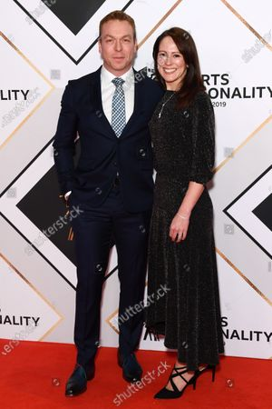 Stock Photo of Chris Hoy and Sarra Hoy