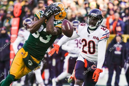 Editorial image of Bears Packers Football, Green Bay, USA - 15 Dec 2019