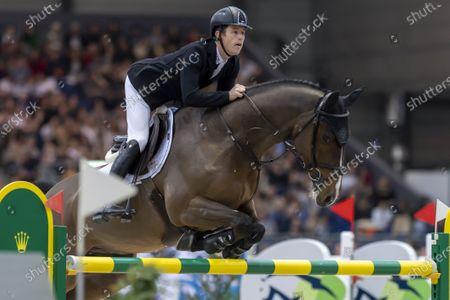 Editorial image of 59th CHI international horse show jumping tournament in Geneva, Switzerland - 15 Dec 2019