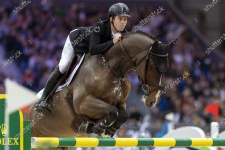 Editorial picture of 59th CHI international horse show jumping tournament in Geneva, Switzerland - 15 Dec 2019