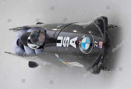 Editorial image of World Cup Bobsled, Lake Placid, USA - 15 Dec 2019