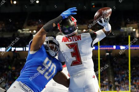 Editorial photo of Buccaneers Lions Football, Detroit, USA - 15 Dec 2019
