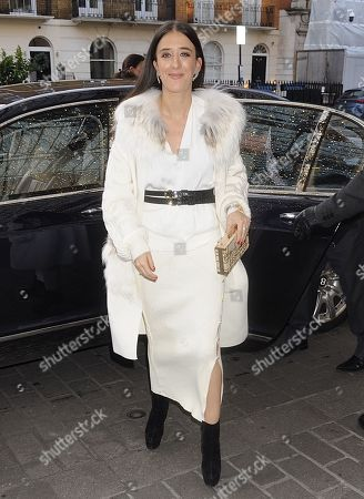 Editorial photo of Ella Jade out and about, London, UK - 15 Dec 2019