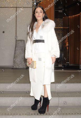 Stock Photo of Ella Jade at the Berkeley Hotel