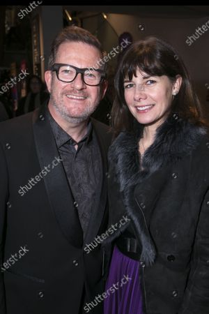 Matthew Bourne (Director/Choreographer) and Darcey Bussell