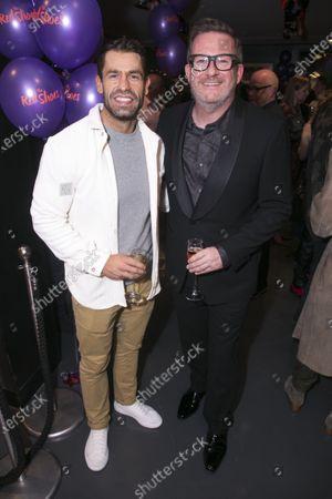 Kelvin Fletcher and Matthew Bourne (Director/Choreographer)