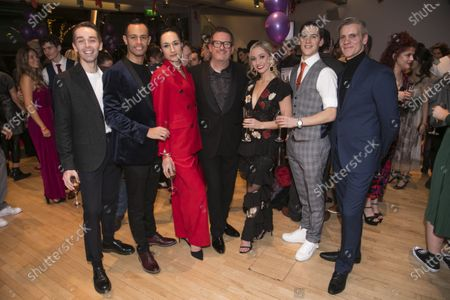 Liam Mower (Ivan Boleslawsky/Grischa Ljubov), Glenn Graham (Boris Lermontov/Grischa Ljubov), Michela Meazza (Irina), Matthew Bourne (Director/Choreographer), Ashley Shaw (Victoria Page), Dominic North (Julian Craster) and Adam Cooper (Boris Lermontov)