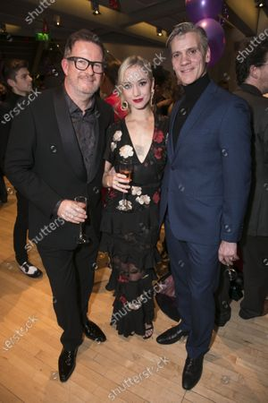 Matthew Bourne (Director/Choreographer), Ashley Shaw (Victoria Page) and Adam Cooper (Boris Lermontov)