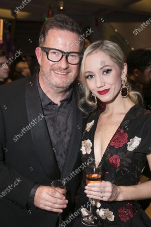 Matthew Bourne (Director/Choreographer) and Ashley Shaw (Victoria Page)