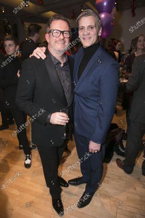 Matthew Bourne (Director/Choreographer) and Adam Cooper (Boris Lermontov)