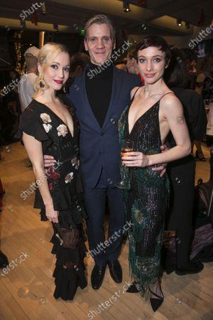 Ashley Shaw (Victoria Page), Adam Cooper (Boris Lermontov) and Cordelia Braithwaite (Victoria Page/Lady Neston/Edith)