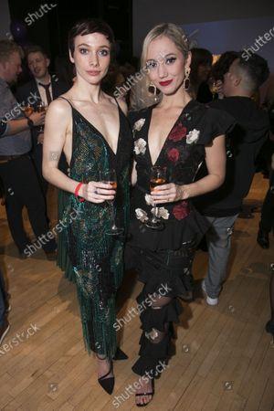 Stock Image of Cordelia Braithwaite (Victoria Page/Lady Neston/Edith) and Ashley Shaw (Victoria Page)