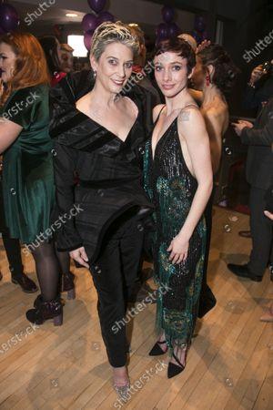 Patricia Kelly and Cordelia Braithwaite (Victoria Page/Lady Neston/Edith)