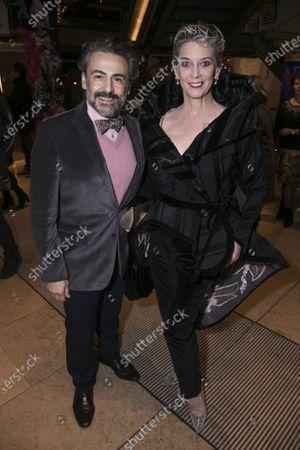 Ali Rahimi and Patricia Kelly
