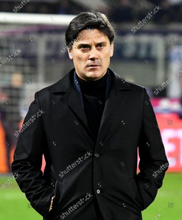 Fiorentina's head coach Vincenzo Montella before the Italian Serie A soccer match between ACF Fiorentina and Inter Milan at the Artemio Franchi stadium in Florence, Italy, 15 December 2019.