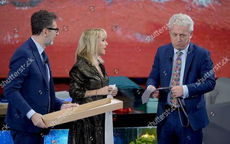 Editorial photo of Rai 2 'Che tempo che fara' TV show, Milan, Italy - 15 Dec 2019