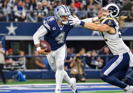 Editorial photo of NFL Rams vs Cowboys, Arlington, USA - 15 Dec 2019