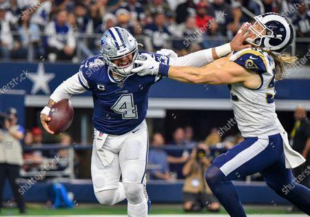 Editorial image of NFL Rams vs Cowboys, Arlington, USA - 15 Dec 2019