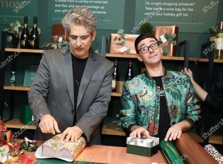 Christian Siriano and Michael Imperioli