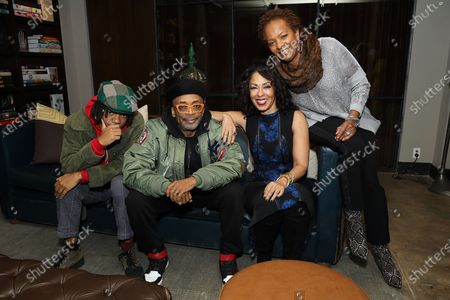 Henry Hunter Hall, Spike Lee, Debra Martin Chase and Vanessa Bell Calloway