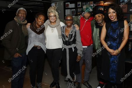 Vondie Curtis-Hall, Vanessa Bell Calloway, Kasi Lemmons, Cynthia Erivo, Henry Hunter Hall, Spike Lee and Debra Martin Chase