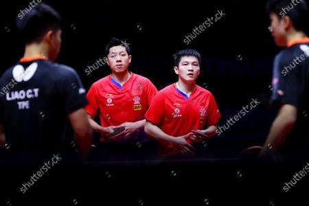 Fan Zhendong and Xu Xin of China