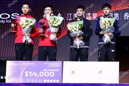Fan Zhendong and Xu Xin of China, Liao Cheng-Ting and Lin Yun-Ju of Taiwan