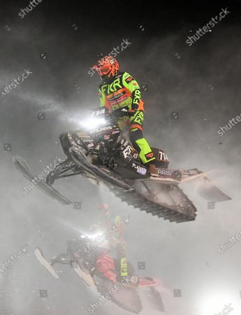 Editorial picture of ISOC Amsoil Championship Snocross - Fargo, ND DEC14, Glyndon, USA - 14 Dec 2019