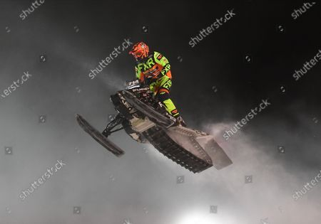 Editorial image of ISOC Amsoil Championship Snocross - Fargo, ND DEC14, Glyndon, USA - 14 Dec 2019