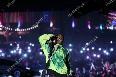 Stock Photo of ASAP Rocky
