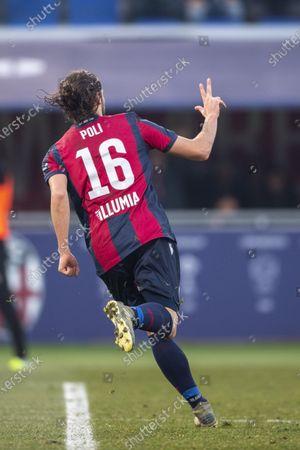 Editorial image of Bologna v Atalanta, Serie A football match, Bologna, Italy - 15 Dec 2019