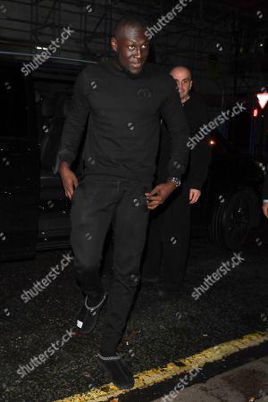 Editorial image of Stormzy out and about, London, UK - 16 Dec 2019