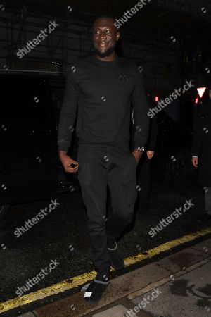 Editorial picture of Stormzy out and about, London, UK - 16 Dec 2019