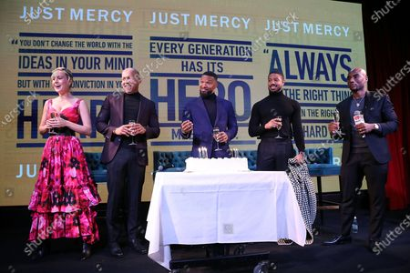 """Editorial photo of A Celebration for """"Just Mercy"""" with a Conversation with the Cast and Writer Bryan Stevenson, New York, USA - 15 Dec 2019"""