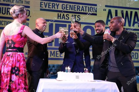 """Editorial picture of A Celebration for """"Just Mercy"""" with a Conversation with the Cast and Writer Bryan Stevenson, New York, USA - 15 Dec 2019"""